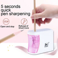 Automatic Electric Pencil Sharpener Battery Operated School Stationery Gracious