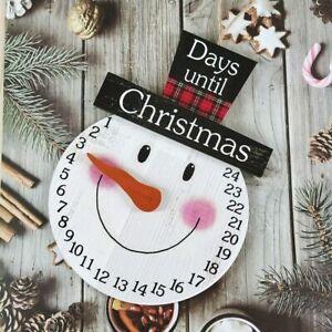 Countdown To Calendar Pendant Decor Advent Calendar Xmas Decoration Home Gifts