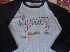 FLY SOCIETY 3/4 baseball raglan sleeve T Shirt XL