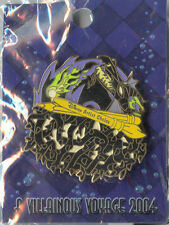 DCL - A Villainous Voyage 2004 Pin Cruise Artist Choice #2 Maleficent Spinner