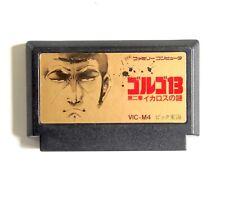 GOLGO 13 Chapter 2 Ikaros No Nazo Nintendo Famicom NES Loose Japan