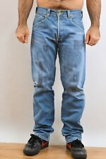 LEVIS VINTAGE Engineered JEANS DENIM FADED Embroidered LOOSE Twisted W31 L34 FAB