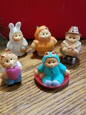 Hallmark Cameron The Cat Mini Figurine Lot Of 5