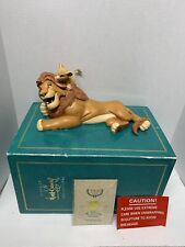 WDCC Walt Disney Classic Collection The Lion King Simba Mufasa Pals Forever CIB