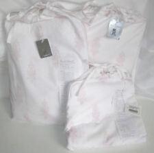 Rachel Ashwell Couture CalIfornia Cal King Sheet Set 4Pc Pink White Shabby Chic