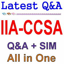 Certification in Control Self-Assessment CCSA Exam Q&A PDF+SIM