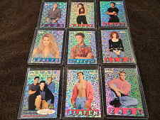 """1994 PACIFIC - SAVED BY THE BELL """"The College Years"""" PRISM Chase Card Subset"""