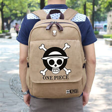 One Piece Straw Hat Pirate Luffy Backpack Schoolbag Cosplay Collection