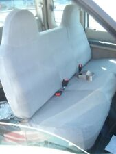 2008 2009 2010 Ford F250-F550 Solid Bench Seat w/Molded Headrests in Gray