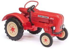 Busch 50051 - 1/87 Tractor Hofherr-Schrantz Austro Junior - Red - New
