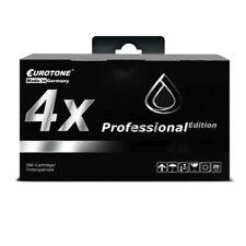 4x Eurotone pro Cartridge Black for Epson Stylus SX-405-WiFi SX-515-W SX-215