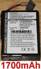 Batterie 1700mAh type 37-00030-001 E4MT181202B12 Pour Magellan RoadMate 2000