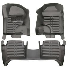 Ford Ranger Extra cabine Paillasson Tapis voiture Coque Rensi 3d Tapis Caoutchouc Coupe