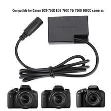 DR-E18 (LP-E17) Dummy Battery Power DC Coupler for Canon EOS-760D EOS T6i Camera