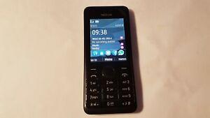 Nokia Asha 301 - Black (Unlocked) Mobile Phone 301.1