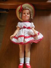 """Shirley Temple 1972 15.5"""" doll"""