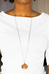 Paparazzi Jewelry ~ Naturally Nirvana Orange Necklace and Earrings
