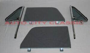 64 65 66 Chevrolet GMC Pickup Truck Glass YT Vents in Post Doors in Channel