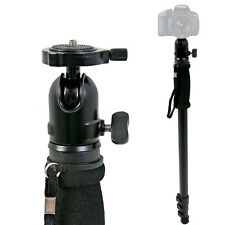 "69"" Adjustable Monopod w/ Ball Head GoPro Hero Mount Camera Stand Aluminum DSLR"