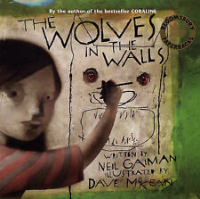 THE WOLVES IN THE WALLS., Gaiman, Neil., Used; Very Good Book
