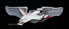 US AIR FORCE PILOT WING USAF THUNDERBIRDS F-16 FIGHTING FALCON NELLIS AFB WOW