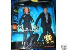 X FILES BARBIE AND KEN.. MINT IN BOX. NEVER OPENED