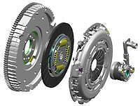 Ford Focus 1.8 TDCi 115 Doble Masa Rígida Volante & Kit De Embrague