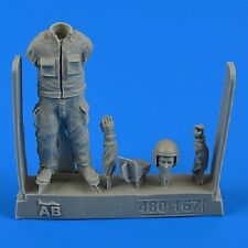Aires 480167	1/48 Warshaw Pact Aircraft Mechanic #3 (w/Wheel Chock)