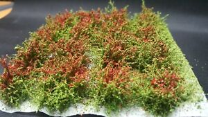 G MiniatureS Buschbüschel, geblütet, rot - 16 Stück
