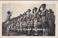 Postcard Typical Chapel Fort Dix NJ