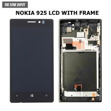 OEM Nokia Lumia 925 LCD TOUCH SCREEN Digitizer & Display Assembly Frame & UK