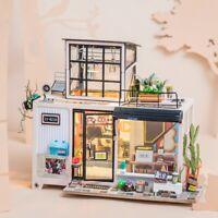 Rolife DIY Wooden Dollhouse Miniature Doll House Furniture LED Kevin's Studio