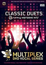CLASSIC DUETS - SUNFLY MULTIPLEX KARAOKE DVD - 12 HIT SONGS
