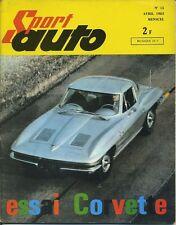 SPORT AUTO n°15 04/1963 ESSAIS CORVETTE AVEC ENCART