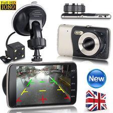 HD 1080P Car DVR Video Recorder Dual Lens Dash Cam Rearview Camera Night Vision