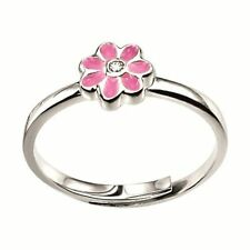 Round Sterling Silver Fine Diamond Rings