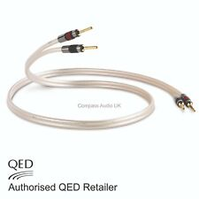QED Reference XT40 Speaker Cable JUMPER LINKS 4 x 20cm AIRLOC Forte Plugs Spades