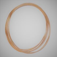 "6  x 5"" Copper Colour Dreamcatcher/Macrame Craft Hoop/Ring & Free Cotton Cord"