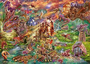 Schmidt - 2000 PIECE JIGSAW PUZZLE - Dragons Treasure Fantasy Dragon