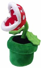 Super Mario Bros Piranha Plant Soft Plush Doll 8 inch Flower Figure Toy