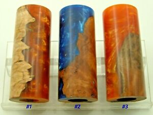 """Duck Call Wood Blanks 1-1/4""""diameter with 5/8"""" center hole #597"""