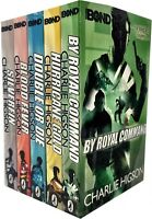 Young Bond Series Collection Charlie Higson 5 Books Set