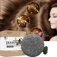 Organic Grey Reverse Hair Shampoo Bar Polygonum Multiflorum