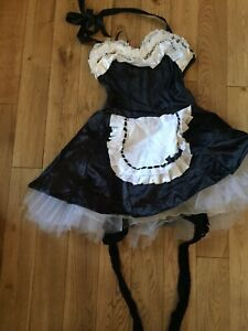Ann Summers Maids Outfit Size 8 Preowned