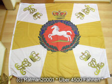 Fahnen Flagge Hannover Hannoversche Armee 1866 Standarte-150 x 150 cm