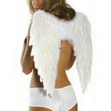 Angel Wings Fancy Dress Party Outfit Fairy Feather Costume Large Adult Cosplay