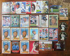 lot (52) GARY SHEFFIELD baseball card 1989 TOPPS ROOKIE RC Fleer insert KING B