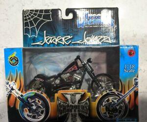 Muscle Machine Jesse James 1:18 El Diablo-Rigid, JJ03-18-15 Motorcycle, NIB
