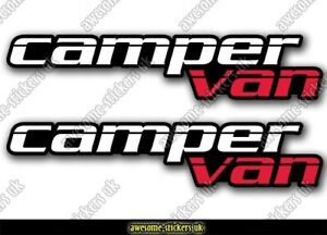 2 x Campervan stickers 071 decal VANLIFE Motorhome camper van Transporter T5 T6