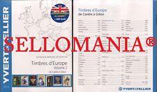 CATALOGO SELLOS YVERT & TELLIER EUROPA TOMO II  CARELIA A GRECIA EDICION 2019
